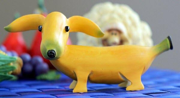 用水果雕刻的动物造型 绝了