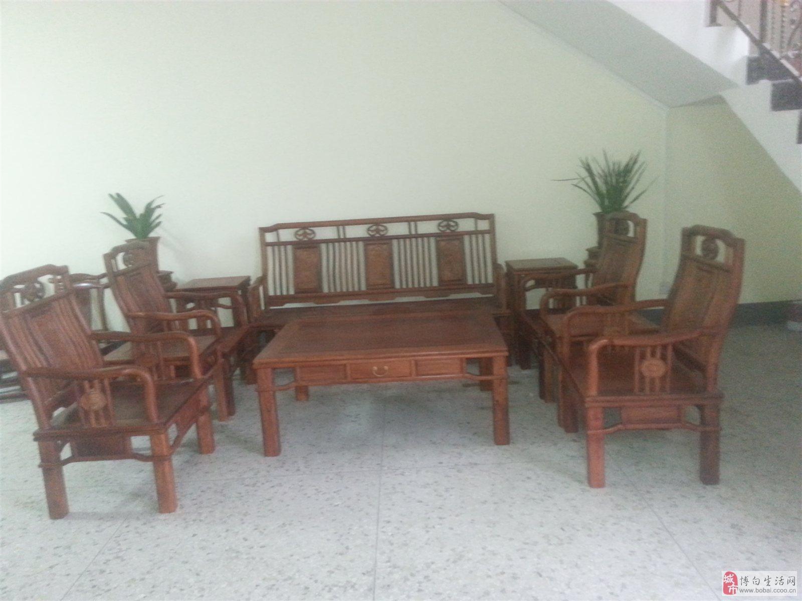 红木家具,大板茶台,红木工艺家装