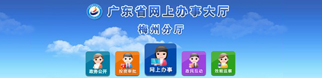 广东省网上办事大厅梅州分厅