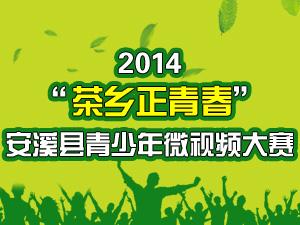 """2014""""茶乡正青春""""安溪县青少年微视频大赛"""