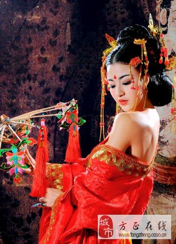"""古风系列""""妃若""""_婚嫁街_方正在线"""