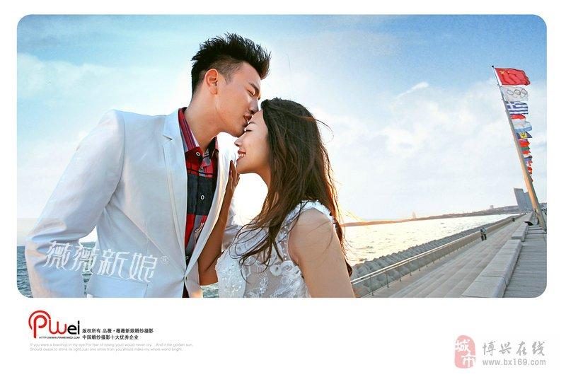 青岛旅游婚纱摄影 海景婚纱照七种经典姿势
