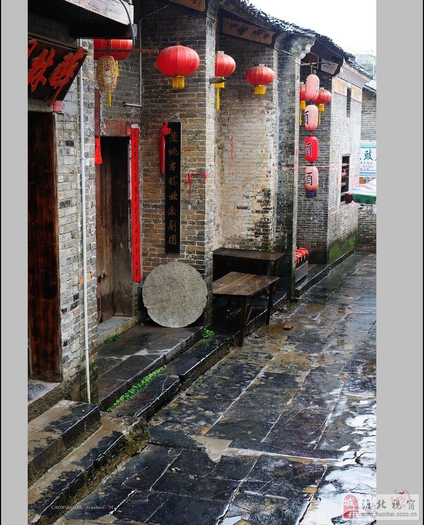"""一个活着的千年古镇""""黄姚"""""""