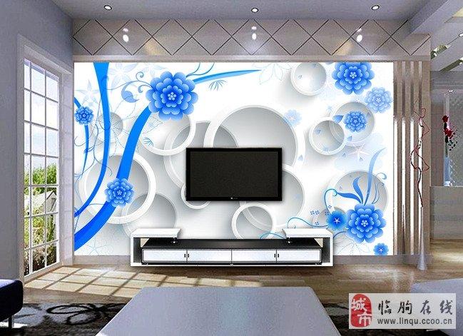 专业艺术玻璃影视墙 背景墙 玄关 隔断 各种装饰画 量身定高清图片