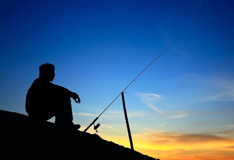 一个人钓鱼的图片大全-微信钓鱼头像图片大全,钓鱼,.