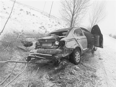车祸猛于虎请您小心驾驶