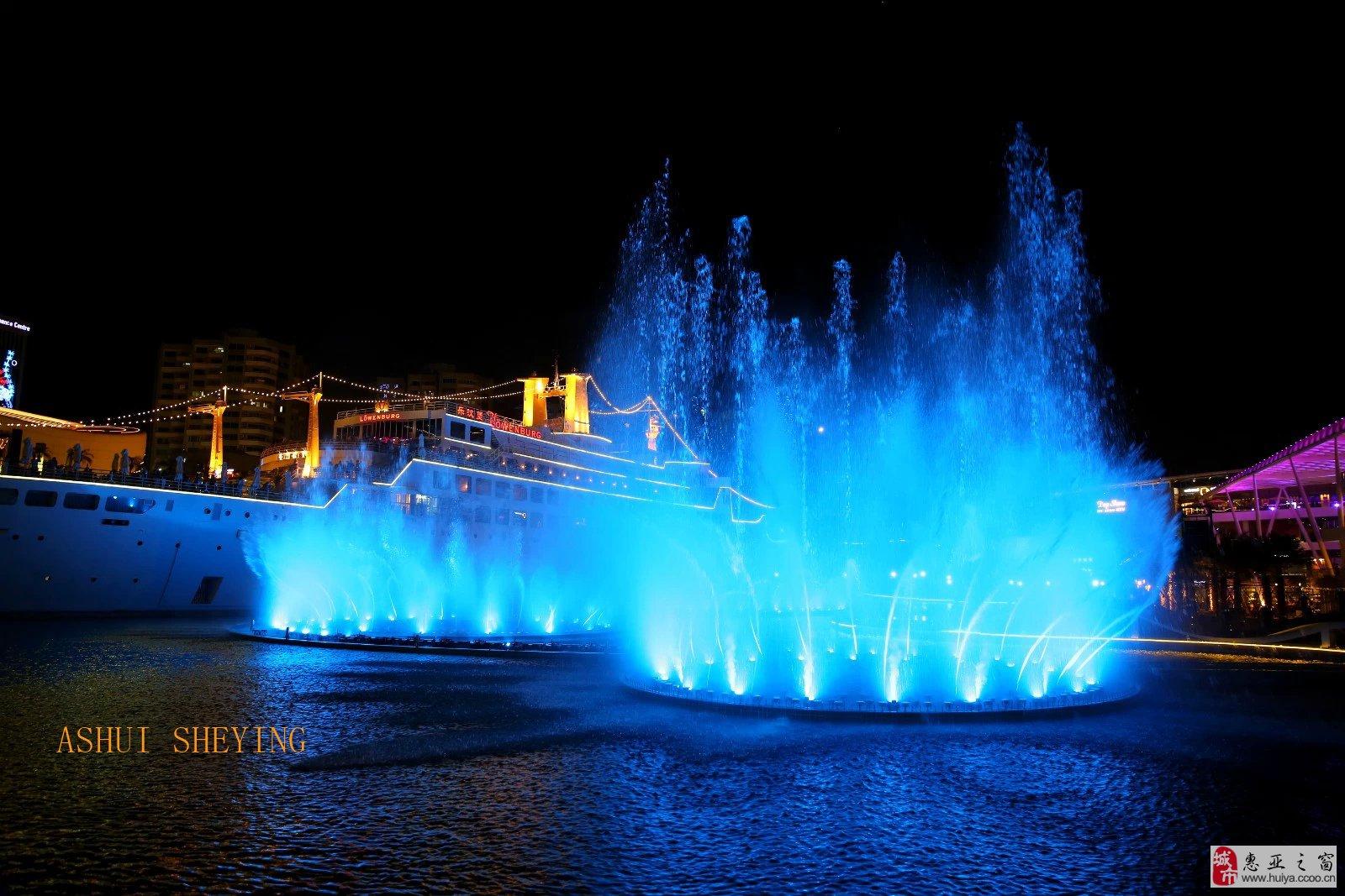 深圳 海上世界 夜景