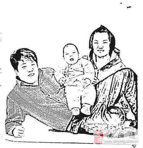 手绘姥姥姥爷的爱图片