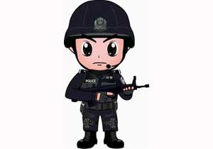 警方行��