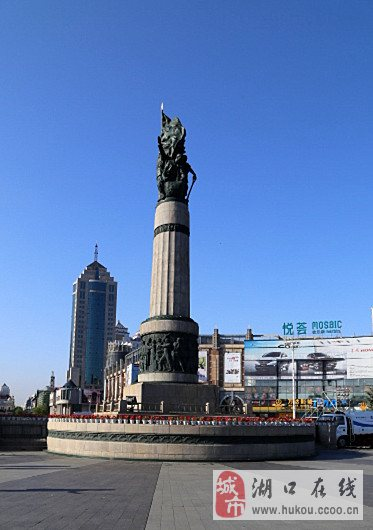 哈尔滨标识性的建筑——防洪纪念塔