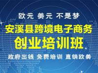 安溪跨境电子商务战略培训班招生简章(免费)