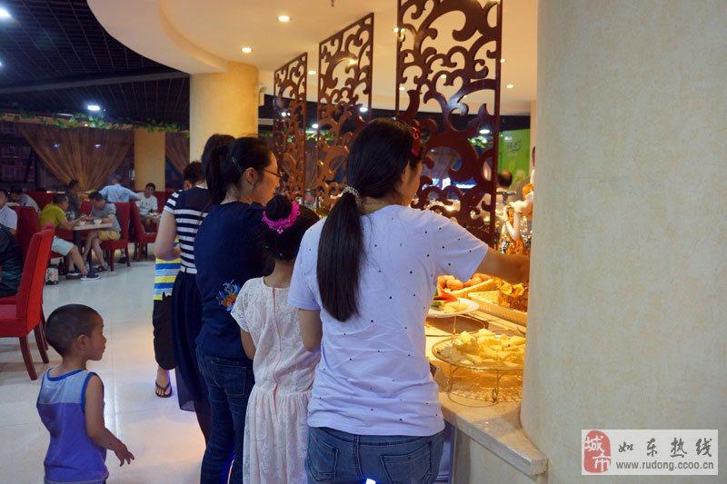 皇朝海鲜自助餐厅开业期间酬宾活动