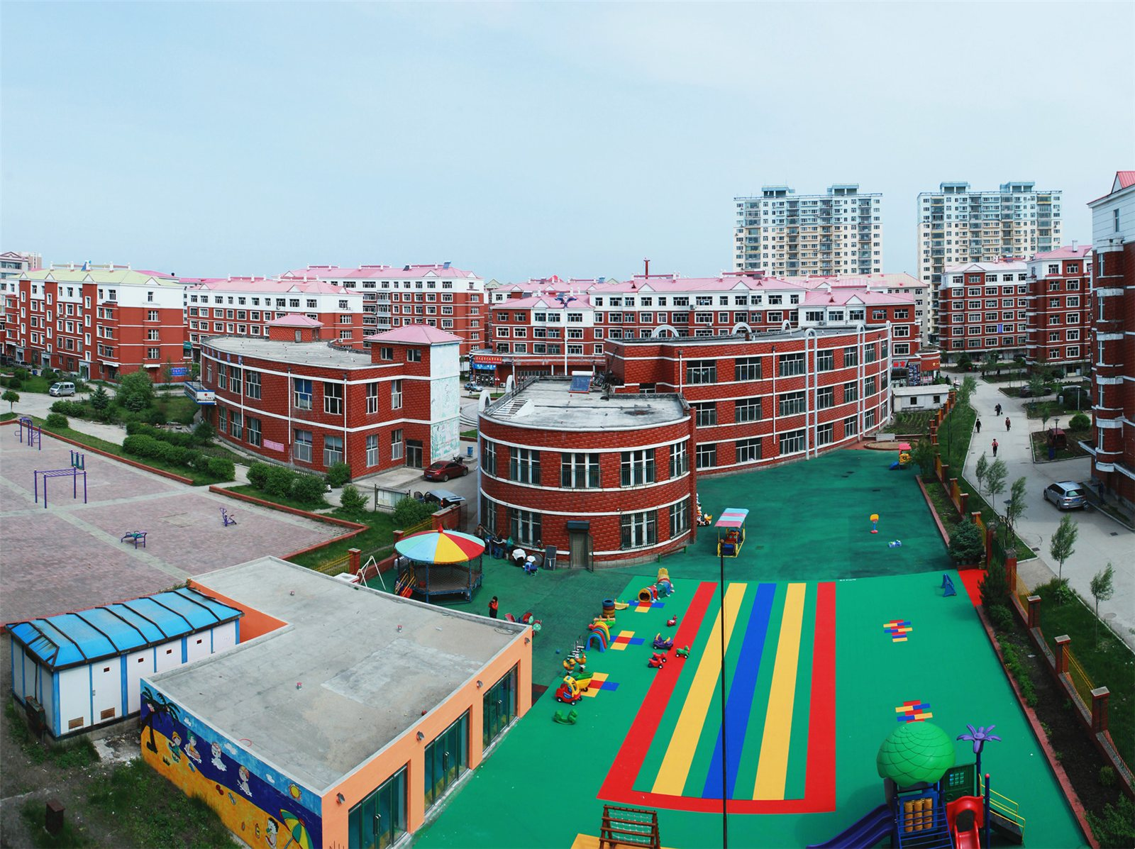 集贤县花园幼儿园