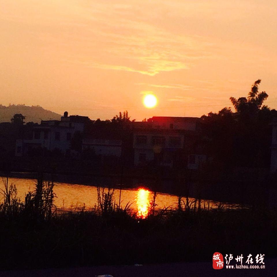 泸州酒城:夕阳无限好!(摄影)