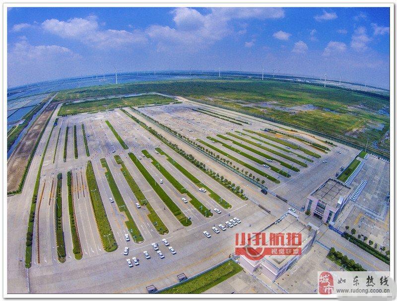 中国最美驾考考场——如东洋口考试场