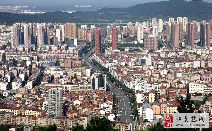 武汉龙泉山风景区标志