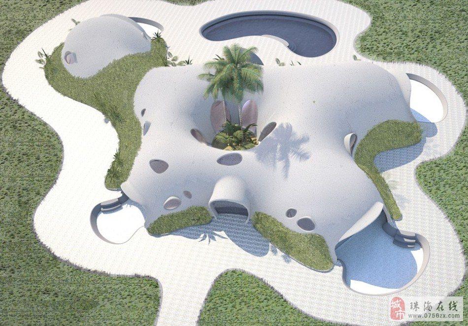 """生态设计展示未来出行:""""霍比特人房屋""""图片"""