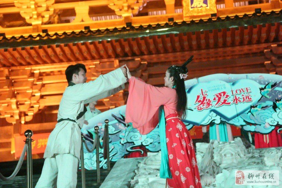 石门中秋节背景素材