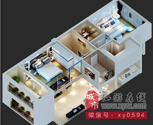 120平方楼中楼设计图展示