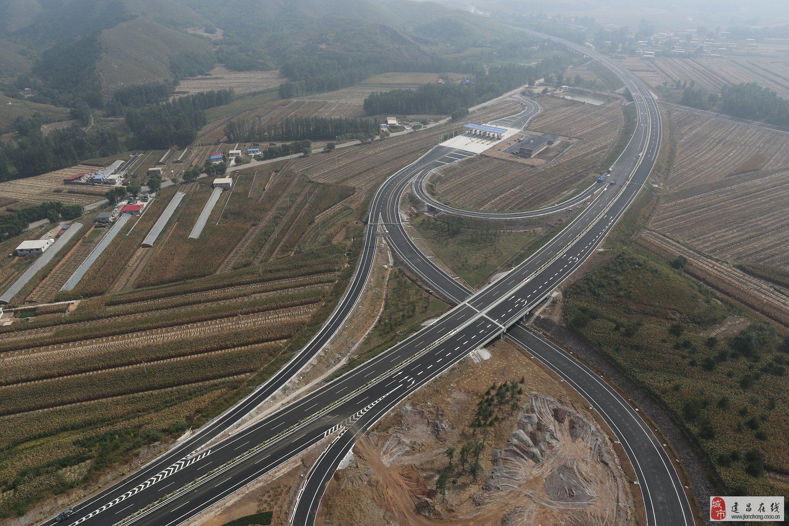 建兴高速公路航拍图_建昌焦点_建昌论坛_建昌在线