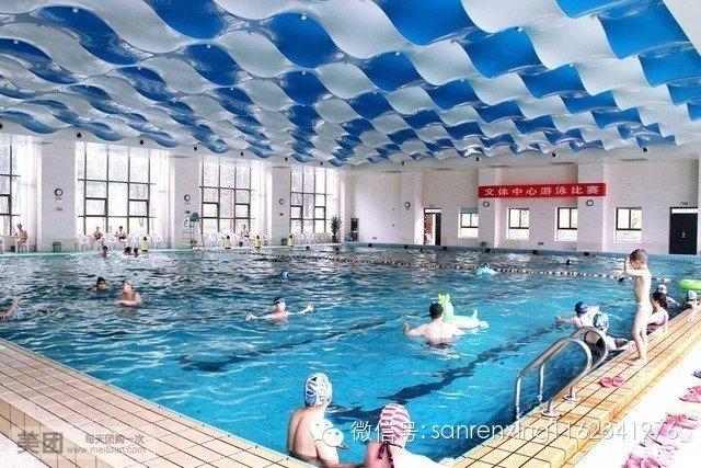 陆疗室内温泉游泳馆