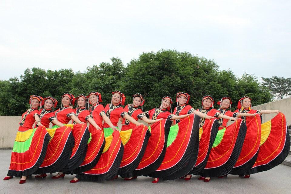 2014年9月29日庆国庆庆重阳滨江广场演出