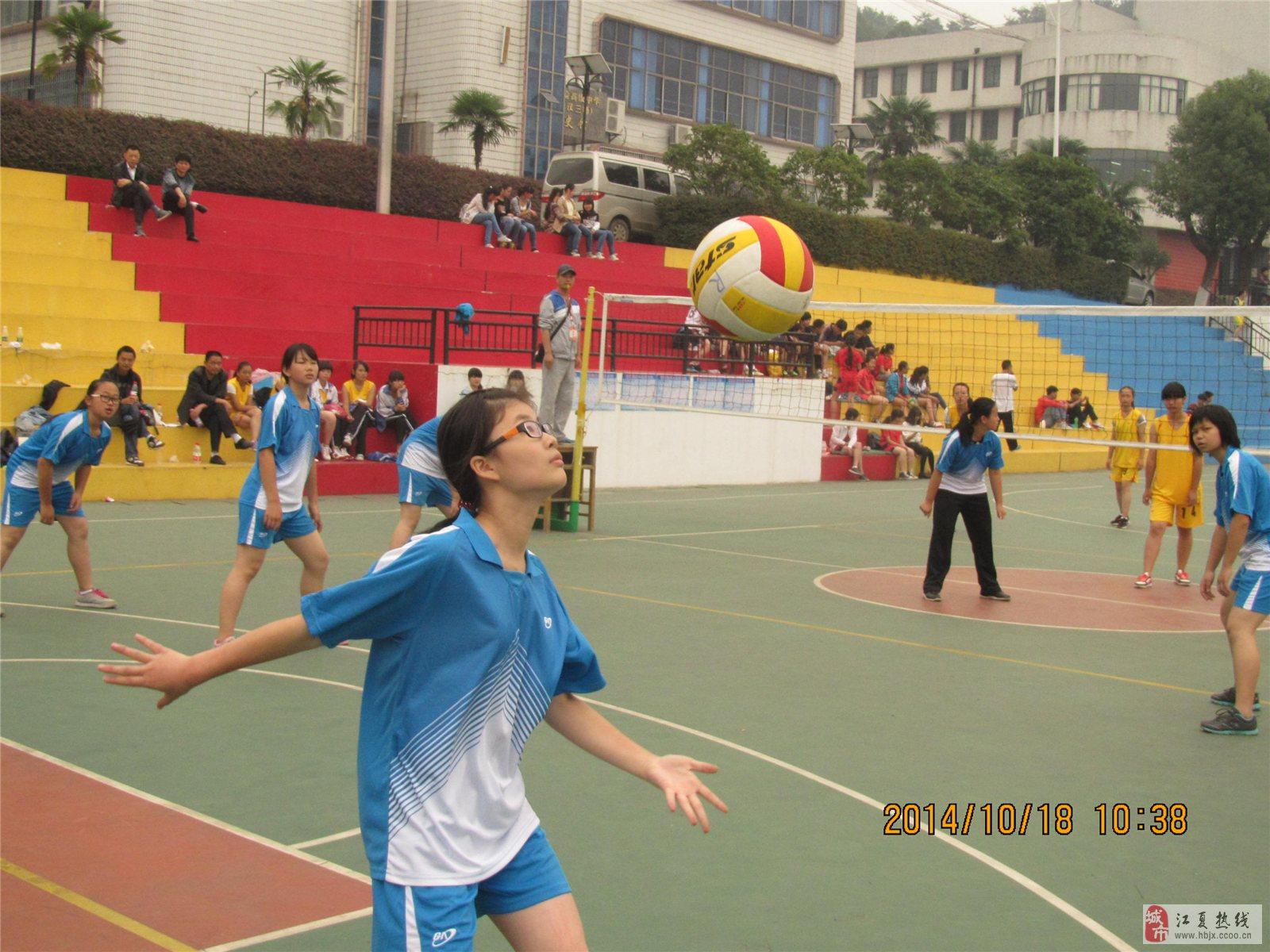 江夏区校园体育节排球比赛