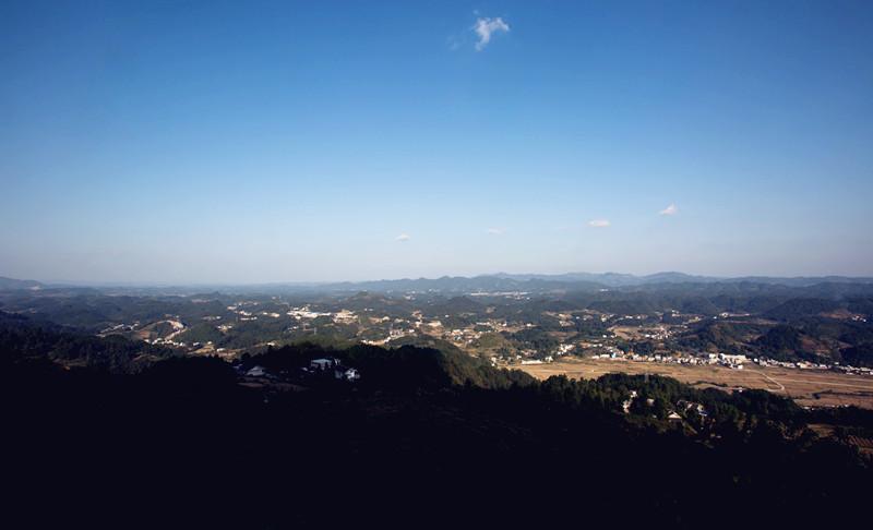 我也去了云贵山,好生态,好空气,好视野_摄影天地_湄潭