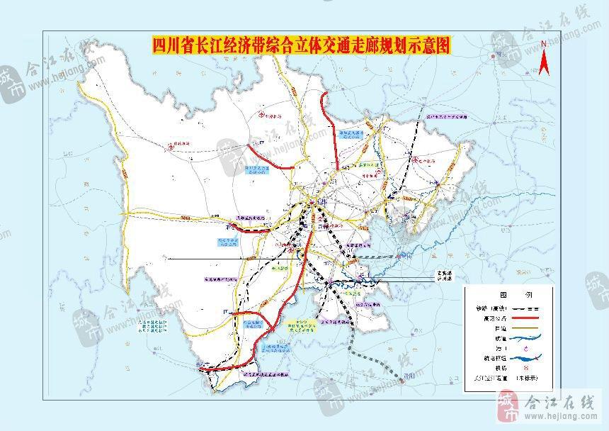 四川泸州合江地图