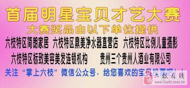 六枝在线网首届明星宝贝才艺大赛复赛16强名单公布