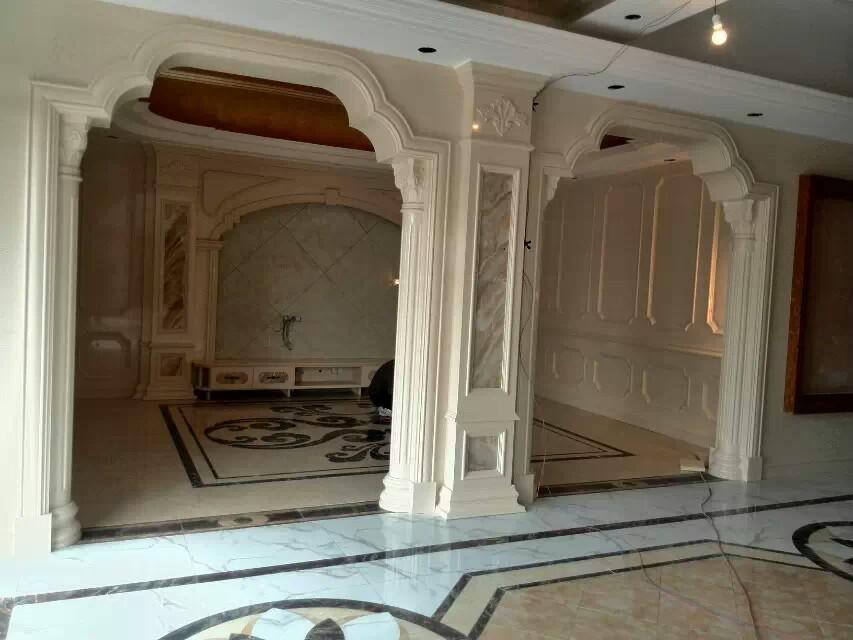 健利石材欧式豪华室内装修