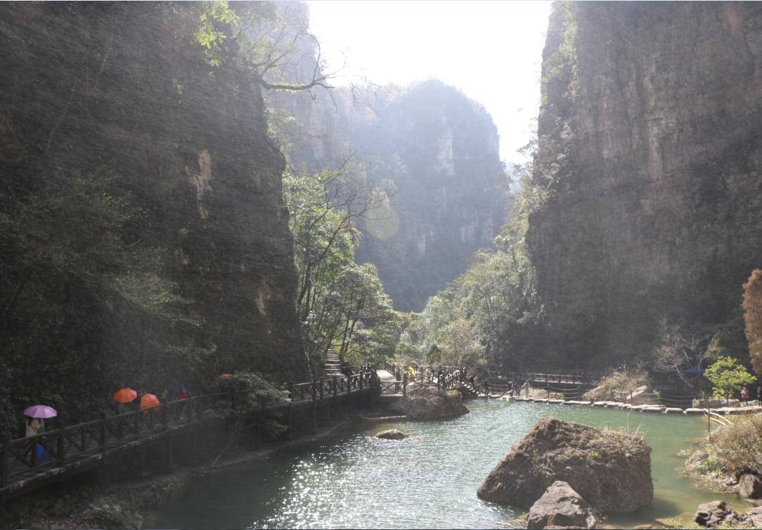 【实拍图】柴埠溪,三峡大瀑布山水自驾二日游纪实