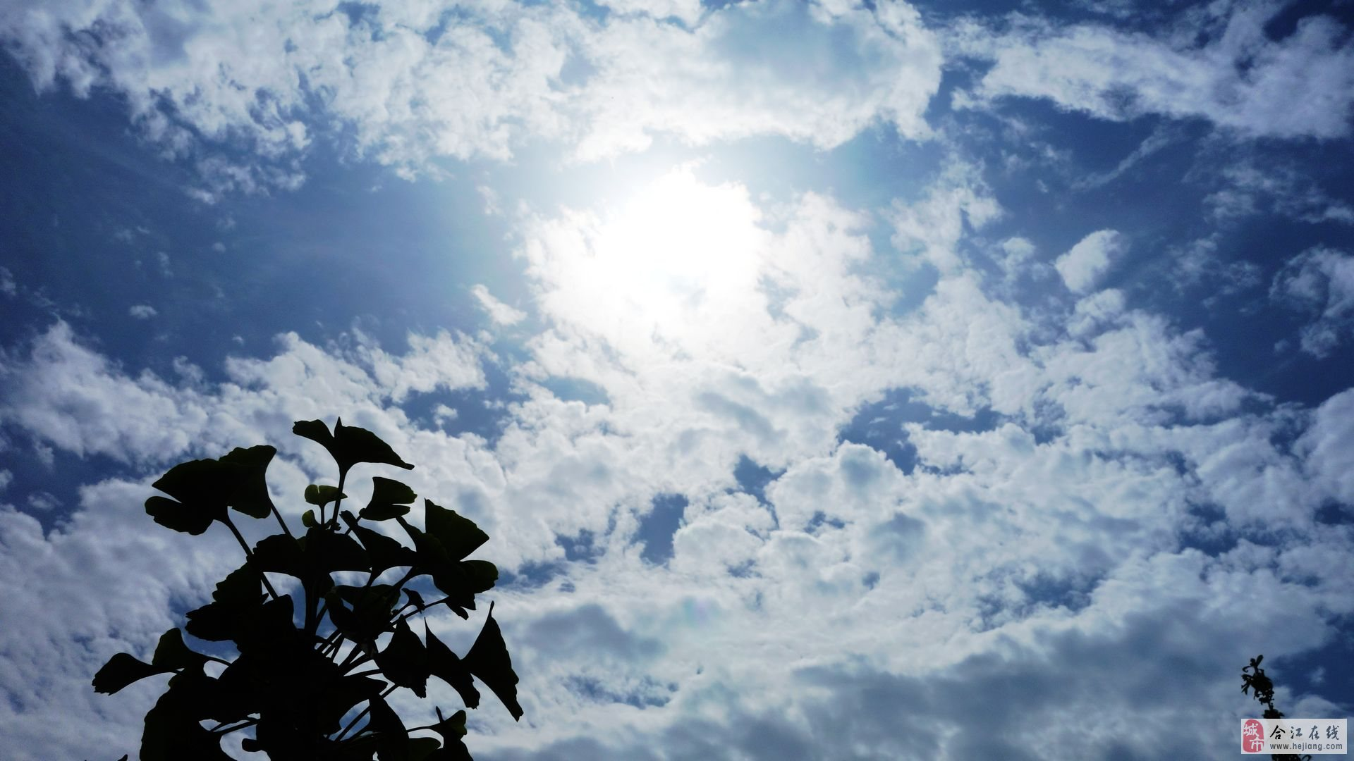 雷雨后的天空