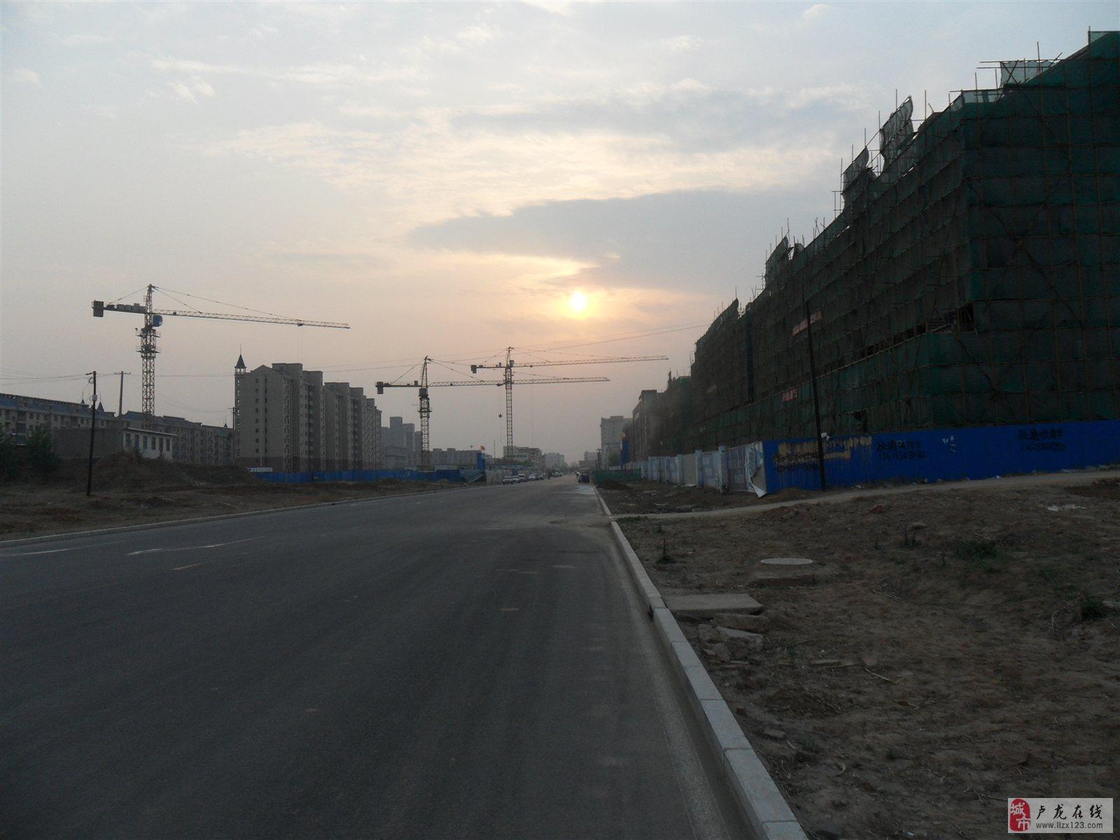 建设中的龙城