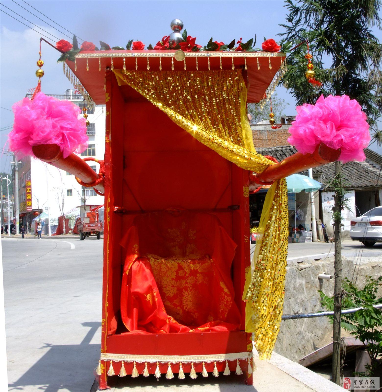 天然婚礼庆典公司的花轿[设计制做王天冉]