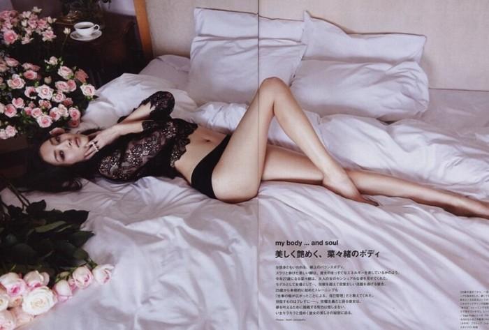 一米八女模特-菜绪爱先锋影音_女神哦(*^__^*) 菜菜绪杂志写真 \