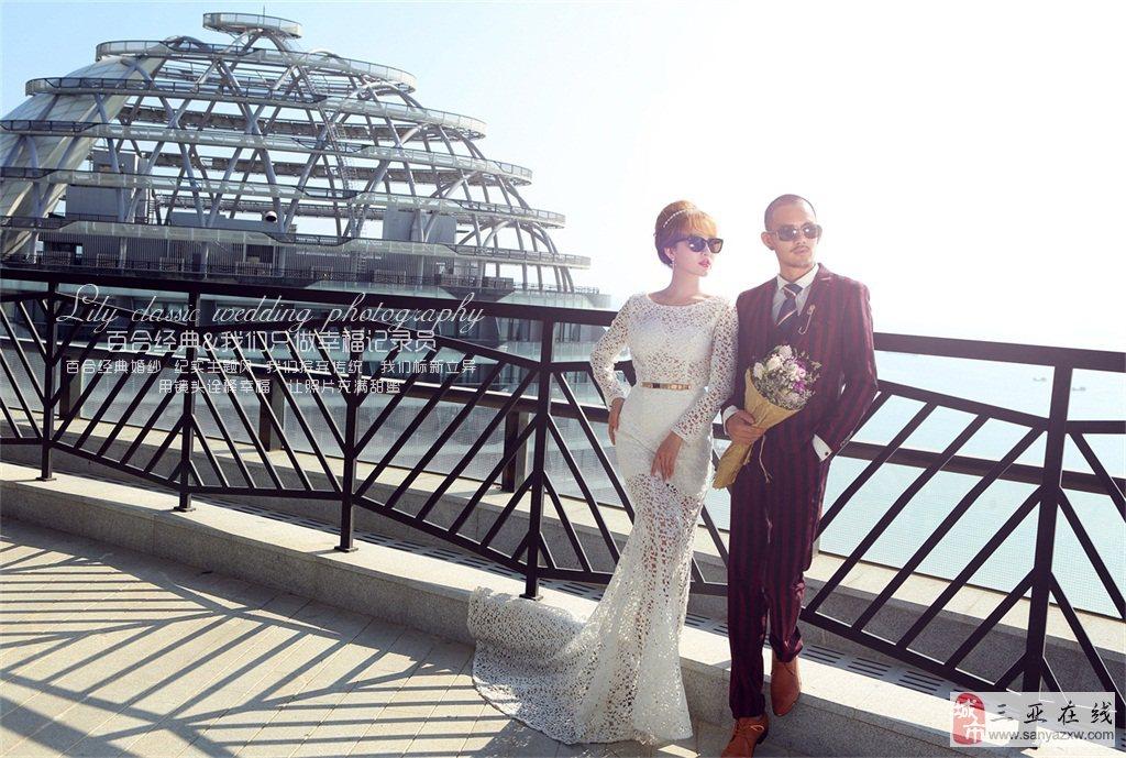 胸部小的新娘怎么拍婚纱照好看
