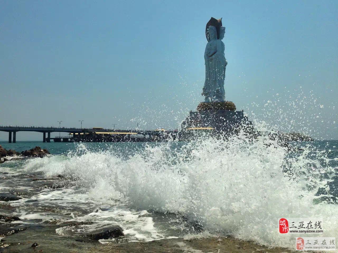 南山观音三亚摄影大师蒋冰手机拍摄作品