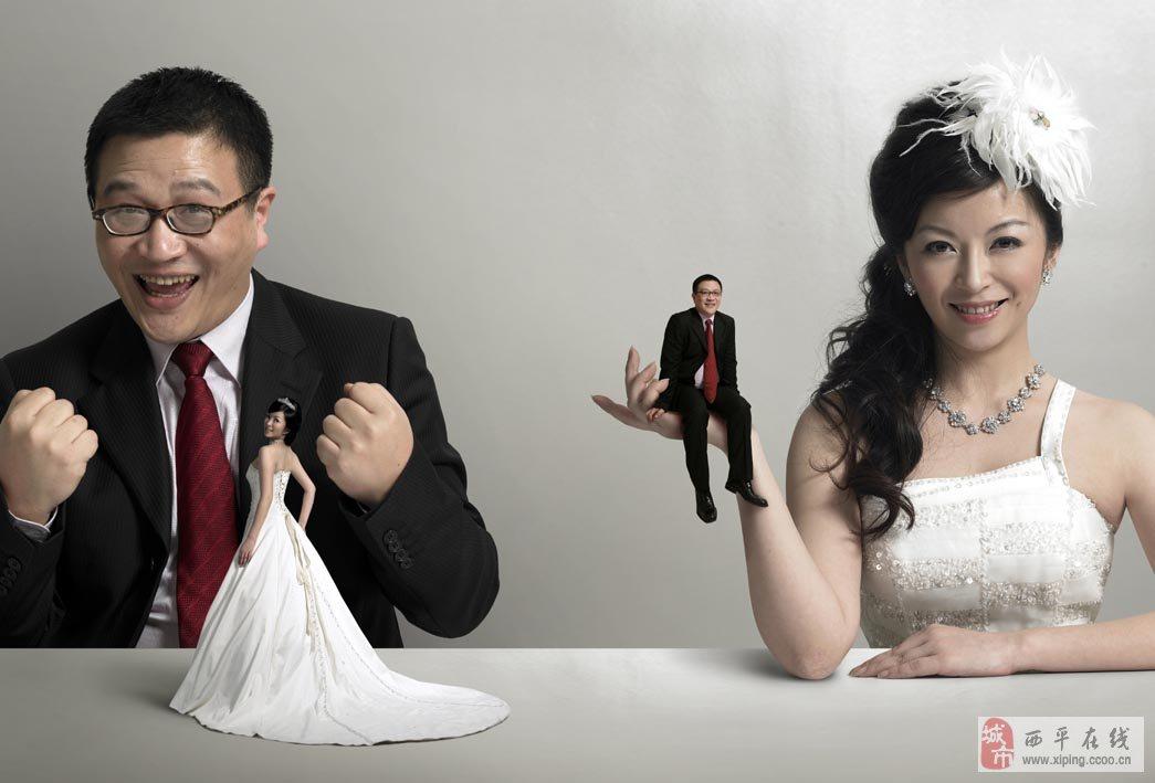 搞怪的婚纱照_精彩贴图