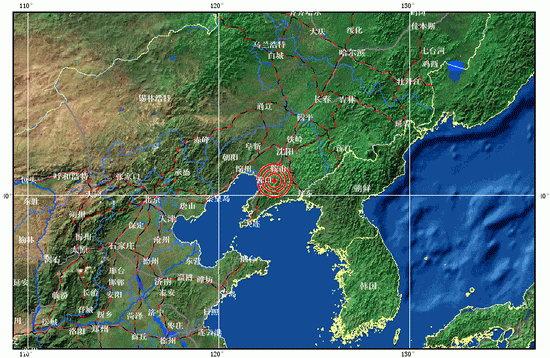 海城处于辽东半岛与内陆的