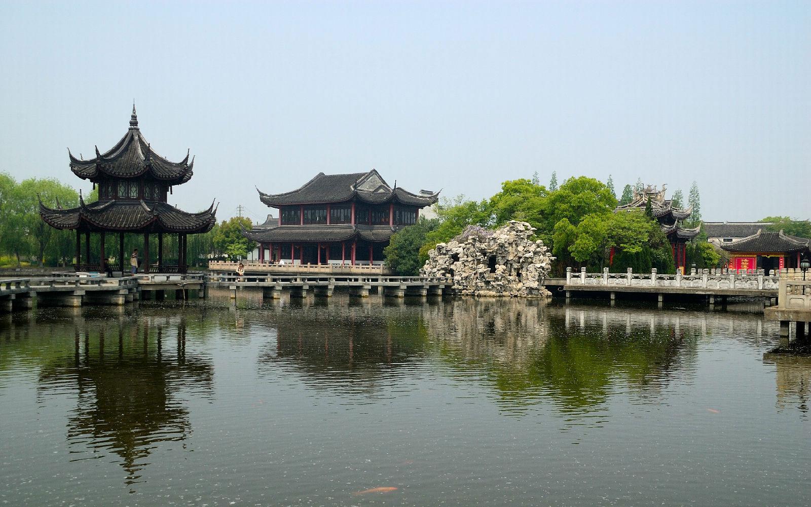 苏州周庄镇图片