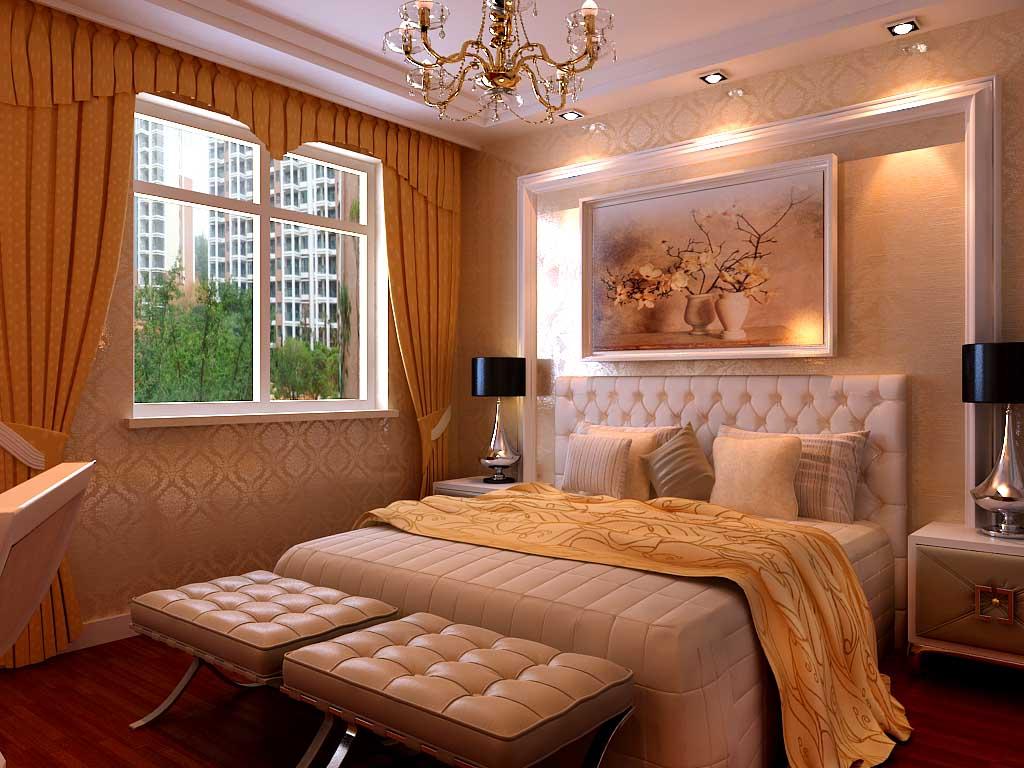 卧室整体效果图