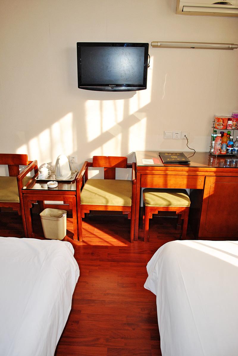 北楼标准间和大床房