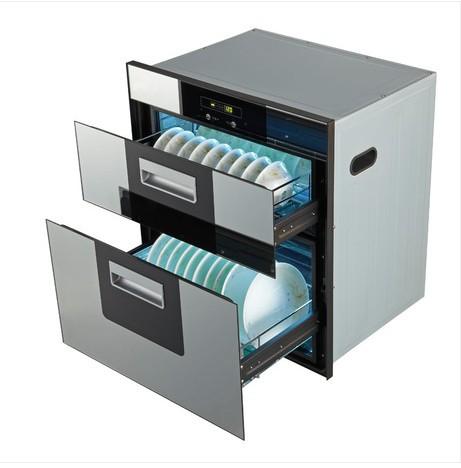高科消毒柜X02 嵌入式消毒柜碗柜镶嵌式家用消毒柜
