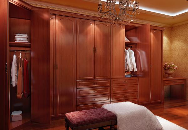 红樱桃书柜配什么颜色窗帘效果图