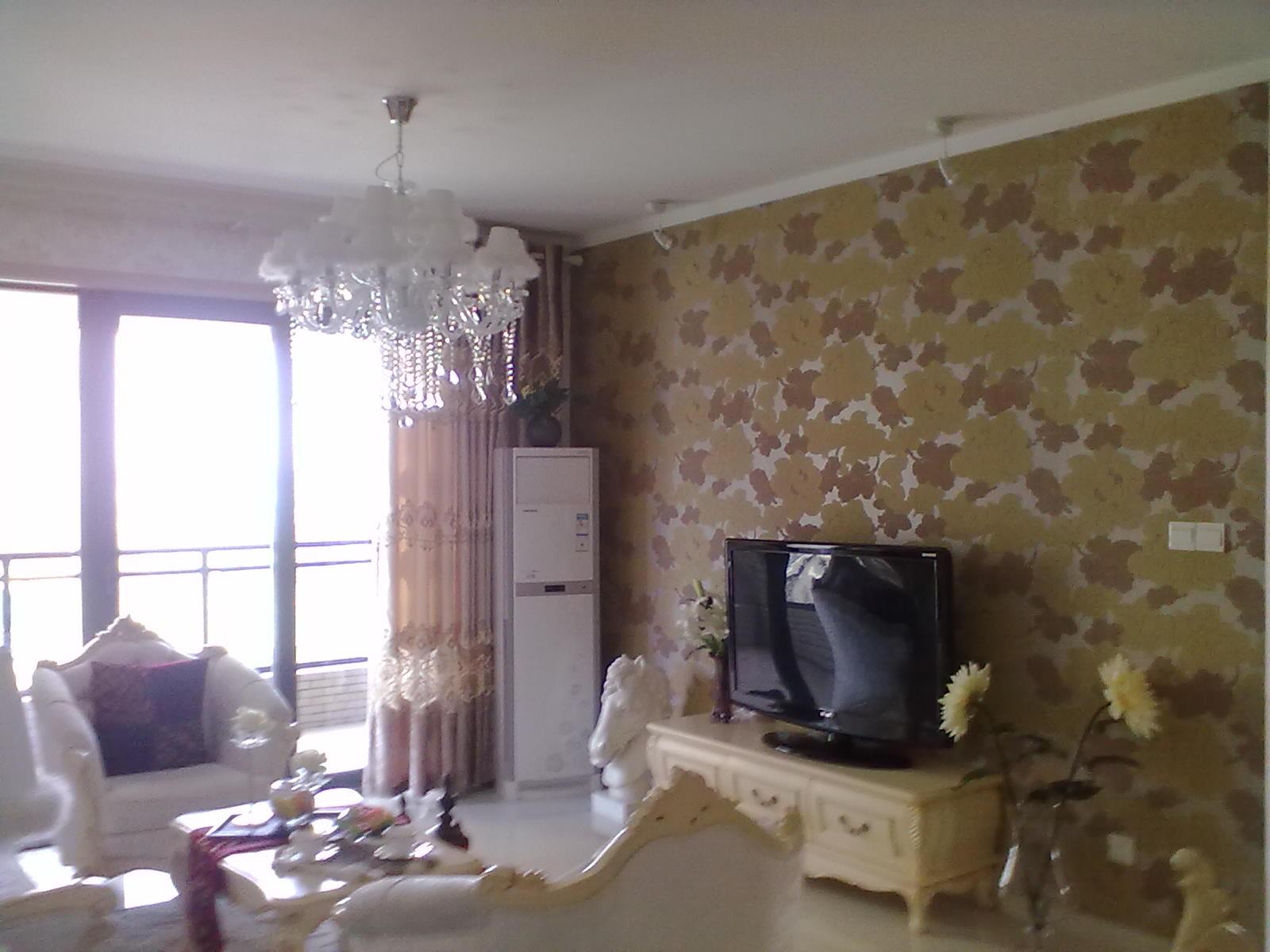 电视背景墙壁纸_家居街