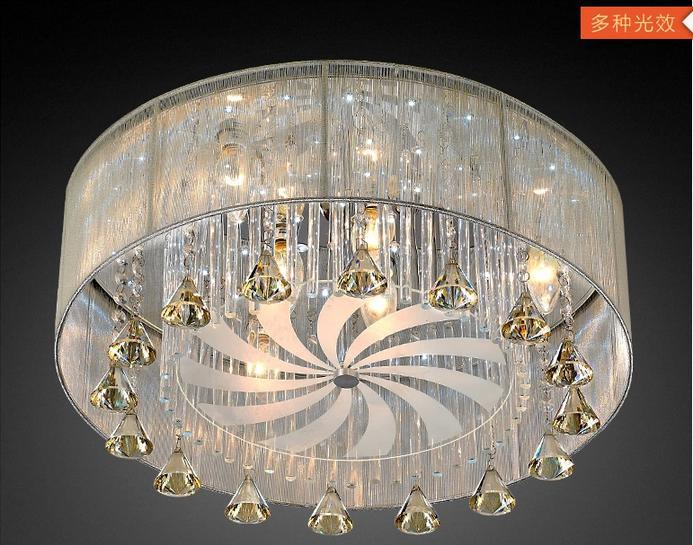 歐普客廳燈現代簡約led吸頂燈水晶燈客廳燈具燈飾