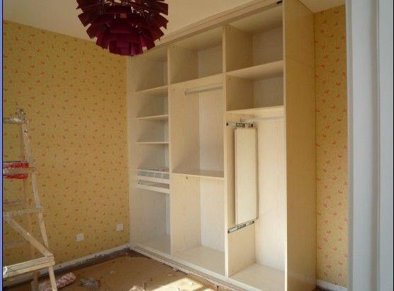 1.8米*2.4米衣柜内部设计图