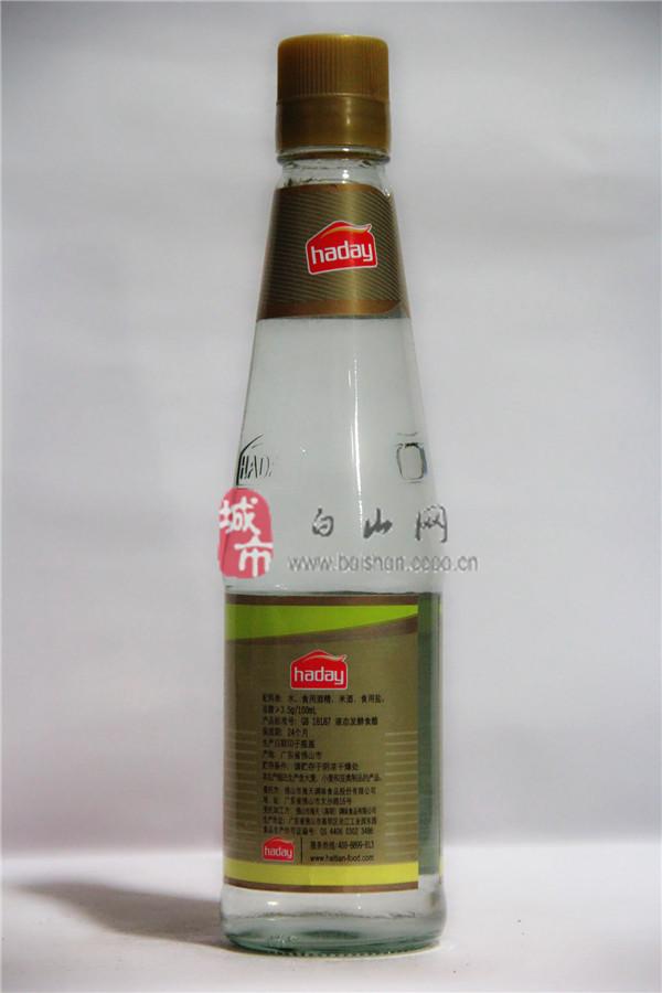海天白米醋450ml
