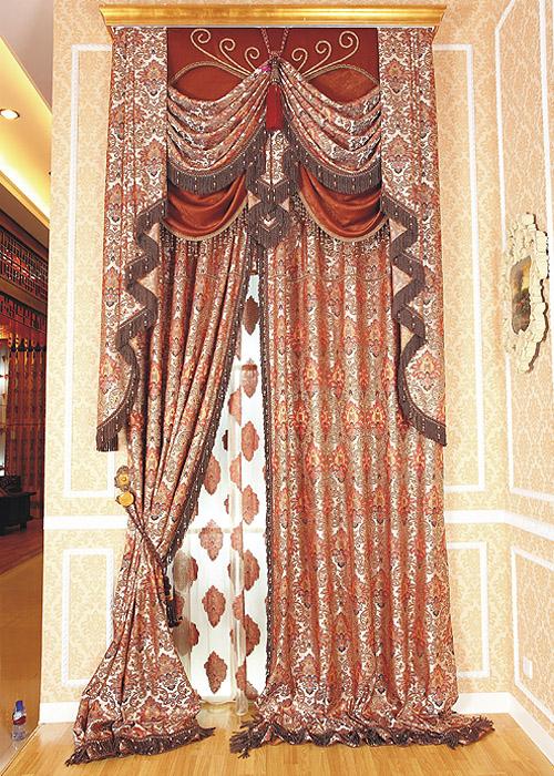 巴洛克风格窗帘A118 20